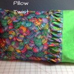 pillow twist, travel size pillow, easter