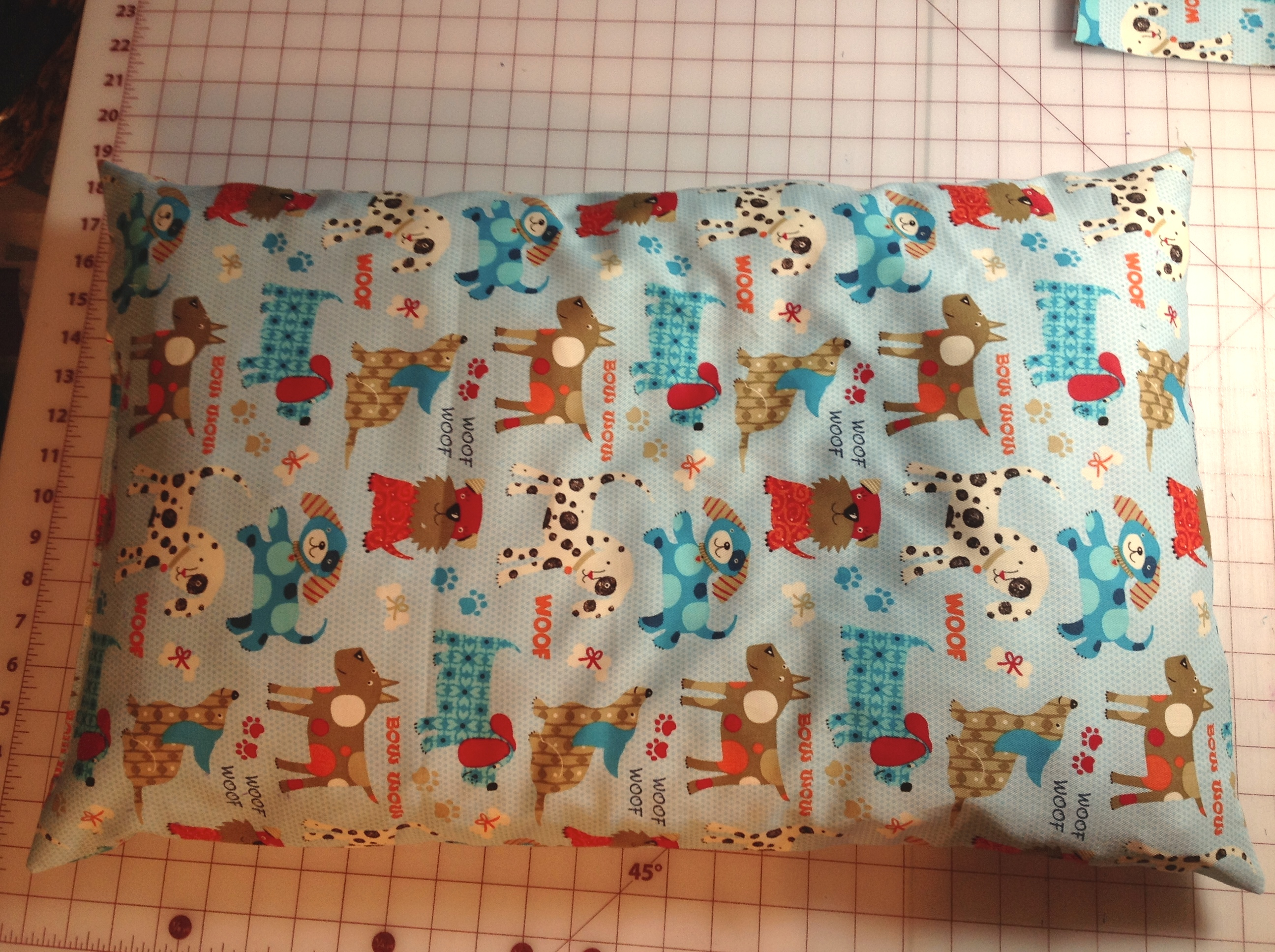 Cat Bed, Scrap fabric, Norco Animal Shelter